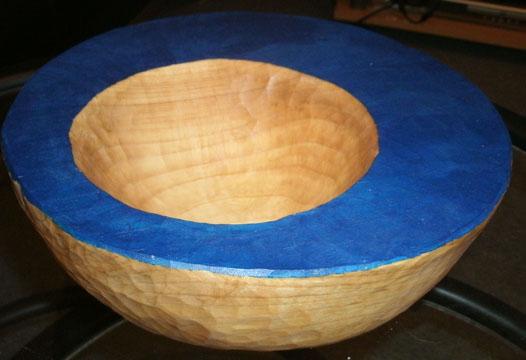 Holzschale aus Lindenholz